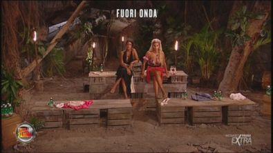 Rosa e Francesca durante un fuori onda