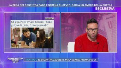 GFVIP - La resa dei conti tra Pago e Serena, parla un amico della coppia