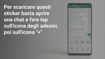 WhatsApp, come scaricare gli sticker dell'OMS