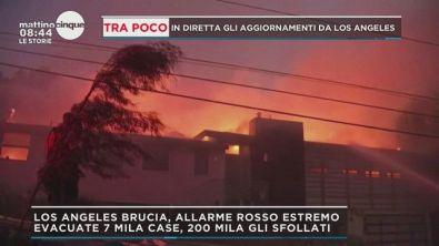 Los Angeles in fiamme