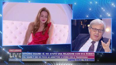 """Eva Robin's: """" Ho avuto una storia con Sgarbi"""""""