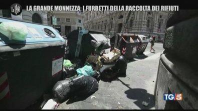 Roma, raccolta rifiuti: la truffa dei furbetti