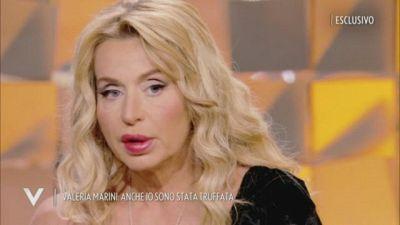 """Valeria Marini: """"la truffa ai danni di mia madre"""""""