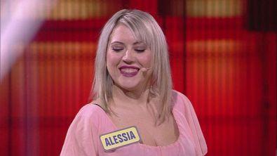 Alessia affronta il quizzone finale