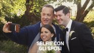 Sorpresa! Al matrimonio sbuca Tom Hanks