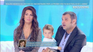 Mauro Marin incontra per la prima volta il figlio