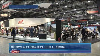 Tgcom24 all'Eicma 2019: Tutte le novità