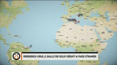 Emergenza virus, il giallo dei soldi versati ai paesi stranieri