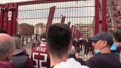 Grande Torino, al Filadelfia calciatori incontrano tifosi, ovazione per Nicola