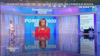 Giorgia Meloni, gli aiuti dall'Europa per l'economia italiana