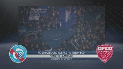 Strasburgo - Dijon 3-2