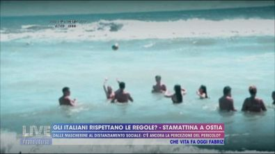 Gli italiani rispettano le regole? - Stamattina a Ostia