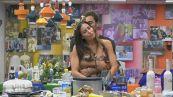 Pierpaolo Pretelli riempie di baci Elisabetta Gregoraci