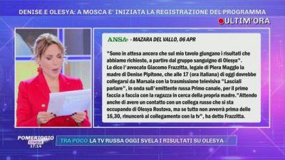 Denise Pipitone: la lettera dell'avvocato di Olesya Rostova