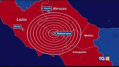 Scossa di 4.4 tra Lazio e Abruzzo