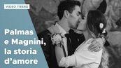 Giorgia Palmas e Filippo Magnini, dal primo incontro al matrimonio