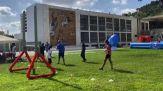 Vezzali e Cozzoli a lancio Multi Sport Village al Foro Italico