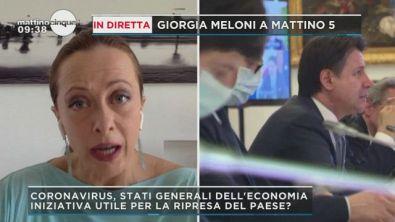 Giorgia Meloni e gli Stati Generali