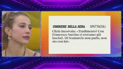 La verità sul triangolo di Clizia Incorvaia, Francesco Sarcina e Riccardo Scamarcio