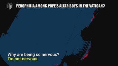 PECORARO: Pedophilia among Pope's altar boys in the Vatican?
