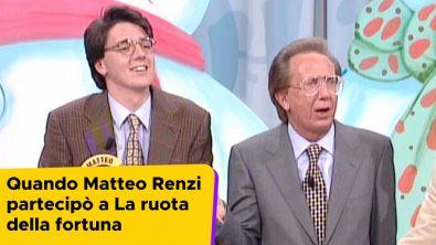 Quando Matteo Renzi partecipò a La ruota della fortuna