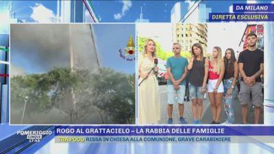Milano: rogo al grattacielo. Parla una delle famiglie