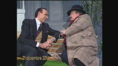 1990: Maurizio Costanzo e Pippo Baudo si immaginano nel 2014