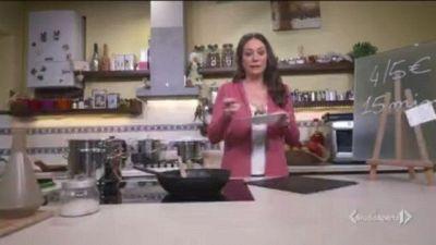Tofie pancetta e radicchio
