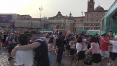 Europei, la Nazionale fa tre su tre e fa sognare il Paese. la Festa in piazza del Popolo