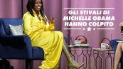 Michelle Obama si rivela 'audace' con il suo look