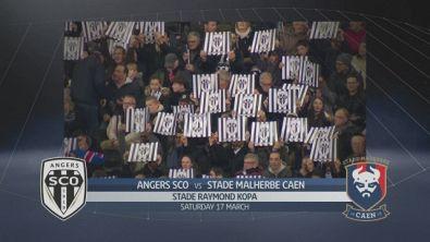 Angers SCO-Stade Malherbe Caen 3-0