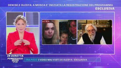 Prof. Meluzzi: ''Olesya può veramente aver dimenticato l'italiano''