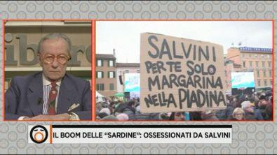 Un mare di Sardine contro Salvini