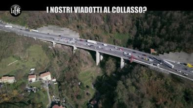 """GOLIA: Ponti a rischio in Liguria, la paura di chi ci vive sotto: """"Cadono bulloni"""""""
