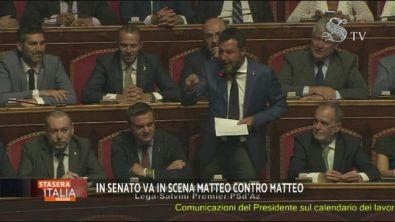 La copertina: colpo di scena di Salvini