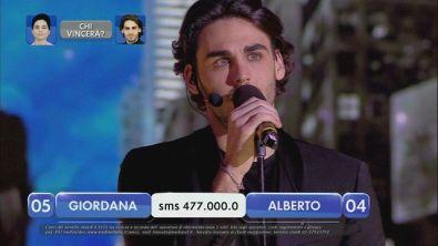 Alberto vs Giordana - La finalissima - III esibizione