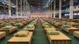 Covid-19, allestito ospedale da campo all'aeroporto di Bangkok