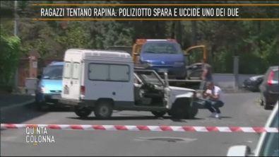 Colle Fiorito di Guidonia: ragazzi tentano rapina