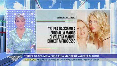 Valeria Marini: truffata la madre per 335Mila Euro
