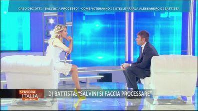 Di Battista contro Salvini