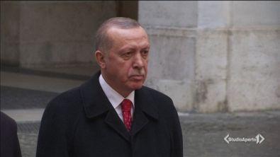 Erdogan a Roma: scontri e proteste