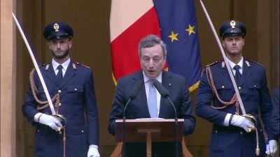 """Italia campione d'Europa, Draghi esalta Donnarumma: """"Che parate!"""""""