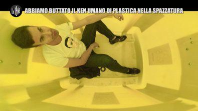 DI SARNO: Lo scherzo plastic free: abbiamo buttato il Ken umano in discarica