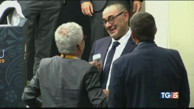 "Juve-Sarri, celebrate le ""nozze impossibili"""