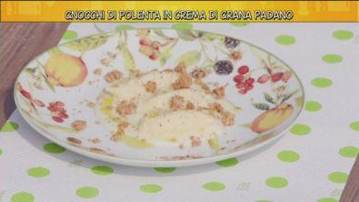 Gnocchi di polenta in crema di grana padano