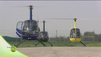Missione in elicottero sull'acqua