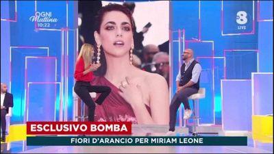 Miriam Leone si sposa a settembre con Paolo Carullo