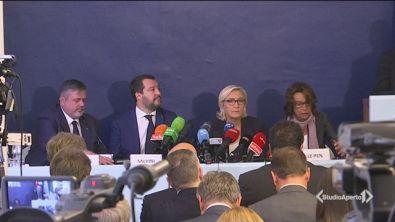 """""""A Bruxelles i nemici dell'Europa"""""""