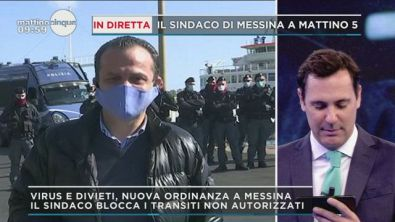 Covid-19: Controlli stretto di Messina
