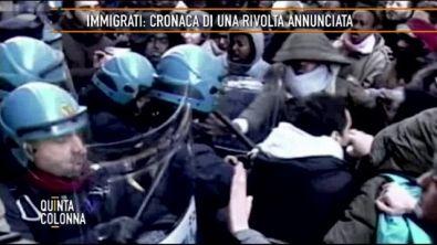 Immigrati: cronaca di una rivolta annunciata
